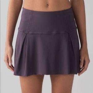 Lululemon Lost In Pace Running Tennis Skirt 6 Tall